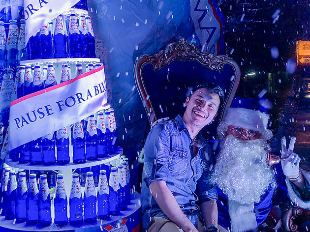 Kronenbourg 1664 Blanc Pause for a Blue Christmas