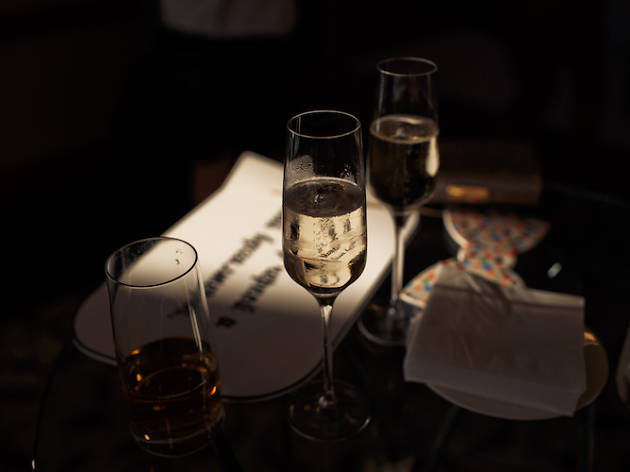 Test your senses as you dine in the dark