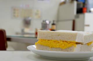 Luen Fat 聯發茶餐廳 - egg sandwich