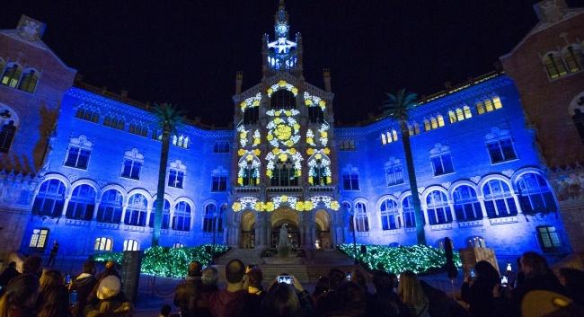 Mapping La llum de Sant Pau