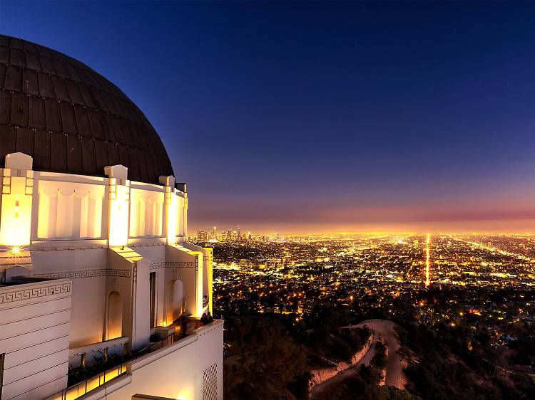 Take in the view from the Griffith Observatory