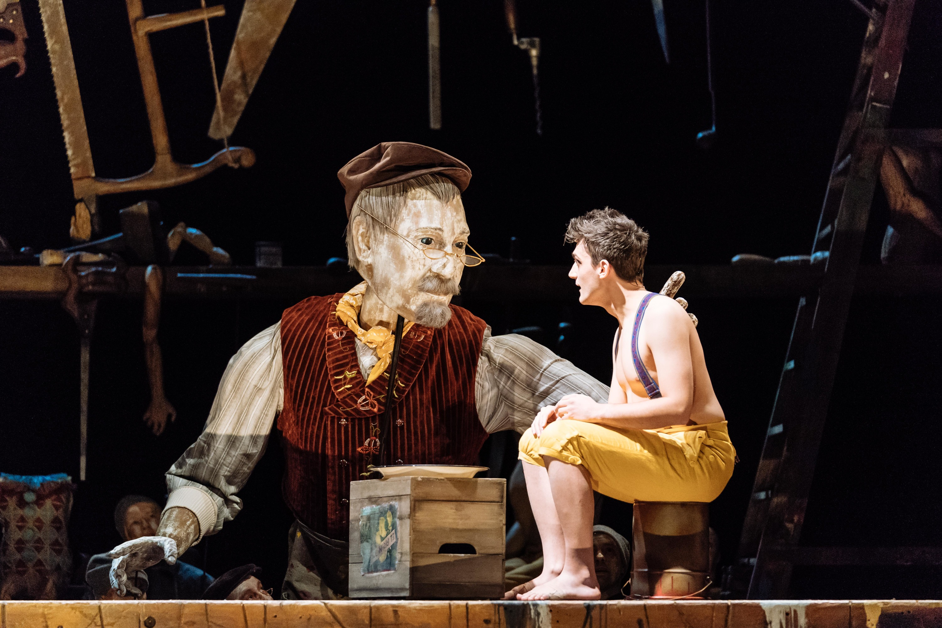 Pinocchio review | Theatre in London