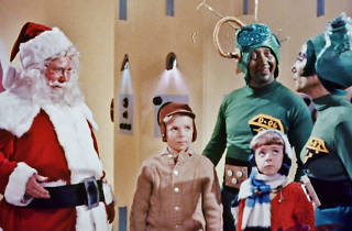 Special screening of Santa Claus Conquers the Martian