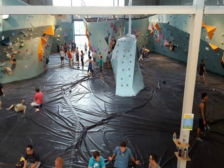 For climbing enthusiasts of all ages: Austin Bouldering Project