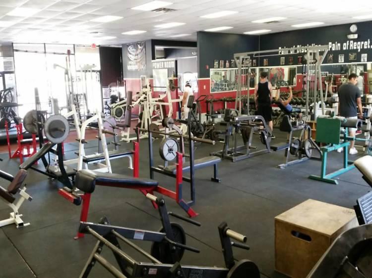 For getting those hardcore gains: Big Tex Gym