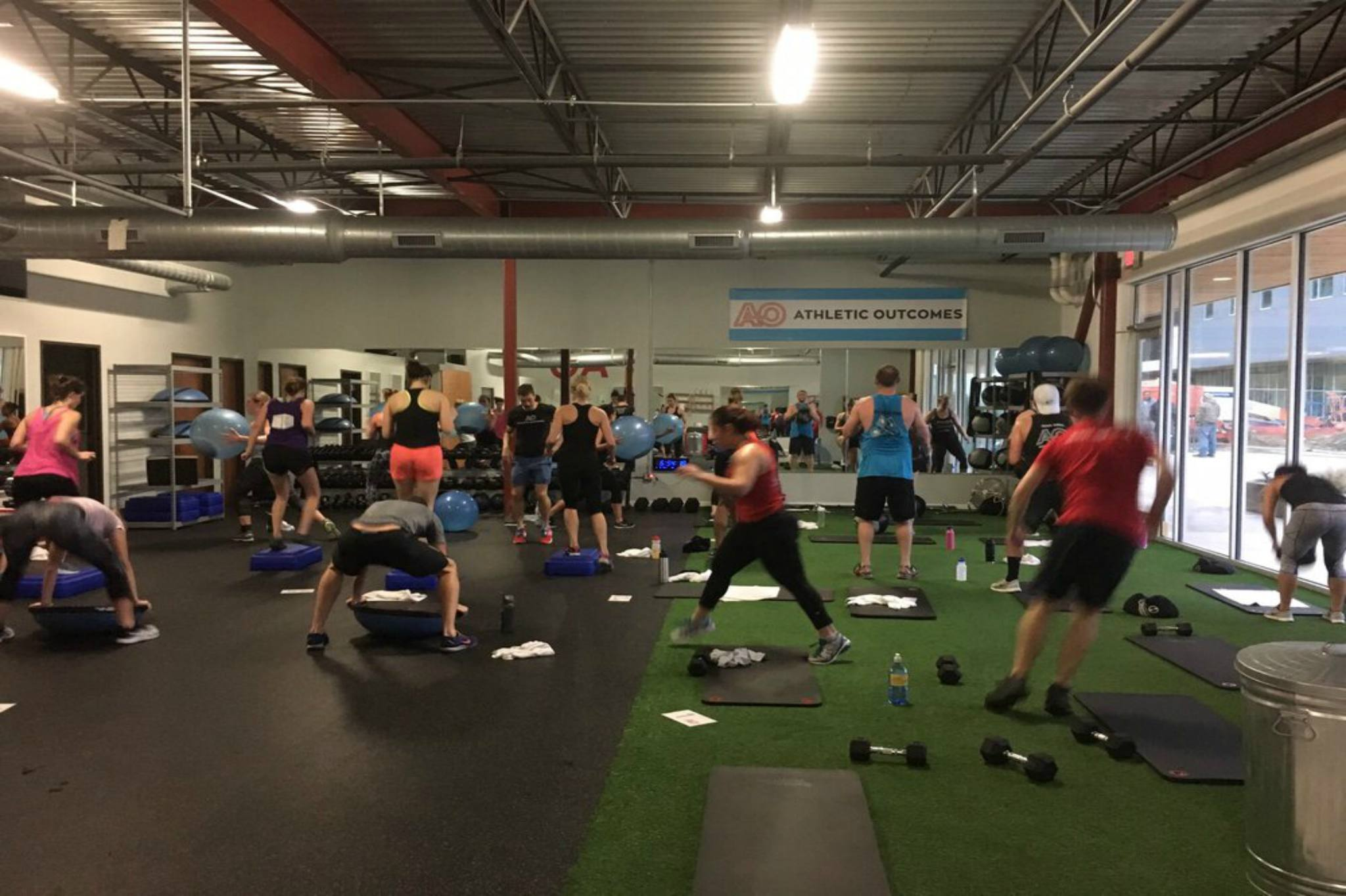 For a boutique approach to wellness: Athletic Outcomes