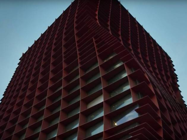 Vespertine building, Jordan Kahn
