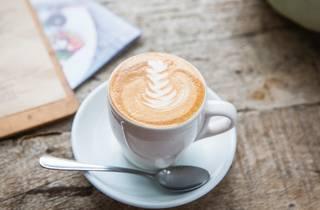 Coffee at Simmone Logue Fine Food Company