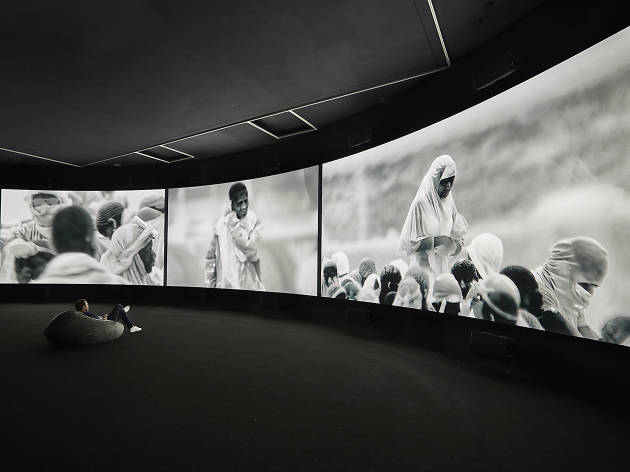 NGV Triennial 2017 National Gallery of Victoria supplied image Richard Mosse 2017 Incoming courtesy Sean Fennessey