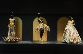 Guo Pei 'Legend collection' (Photograph: Tim O'Connor)