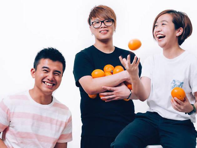 年輕的橙 A Young Orange. Photo: Calvin Sit