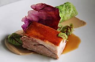 Lamb, Lettuce Emulsion