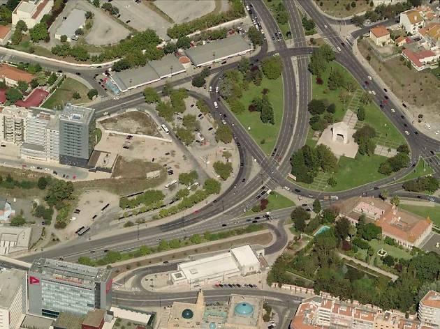 praça de espanha lisboa mapa A Praça de Espanha vai mudar: conheça as nove propostas praça de espanha lisboa mapa