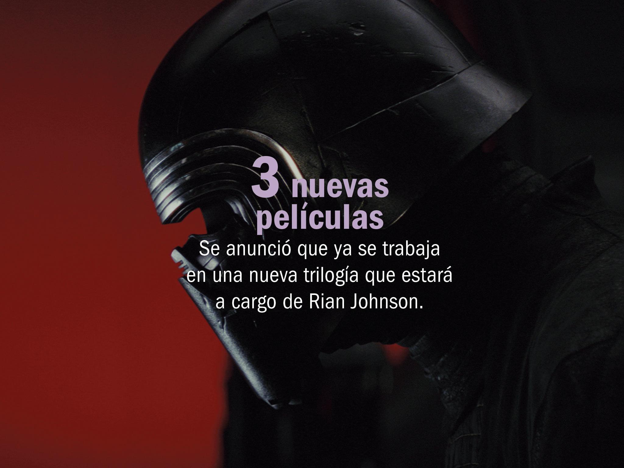 Numeralia, Star Wars Los últimos Jedi