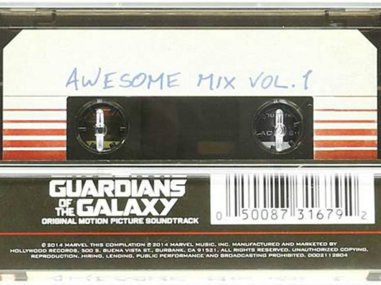 Guardianes de la galaxia Awesome Mix Vol. 1