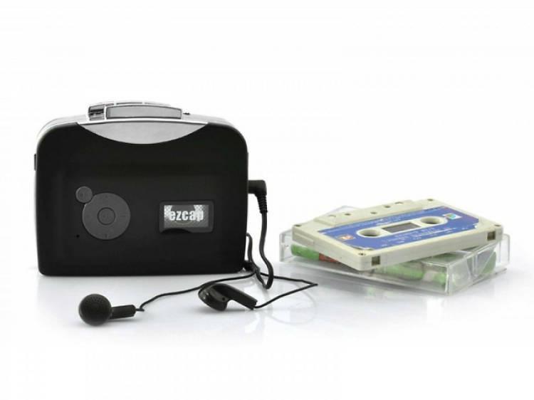 REDLEMON Reproductor de Casetes y Convertidor a MP3