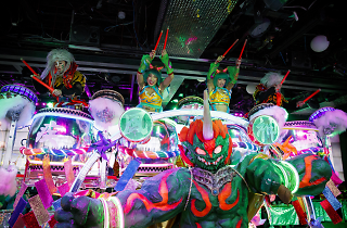 Where to take your Instagram shots at Robot Restaurant