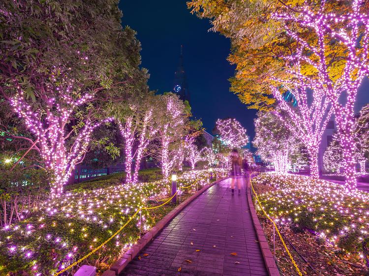 Illuminations in Tokyo