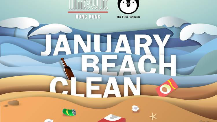 January beach clean