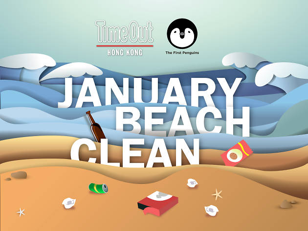 Time Out x First Penguins January Beach Clean