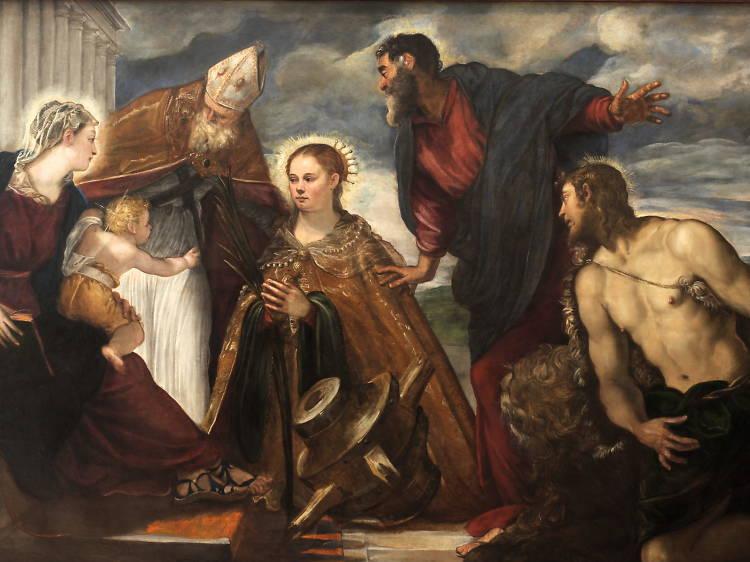 Admire a Tintoretto