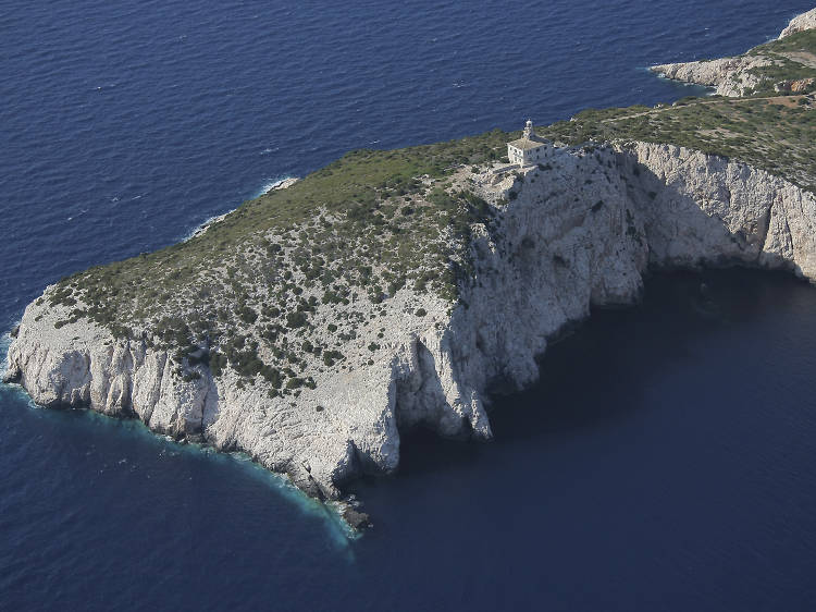 Struga Lighthouse, Lastovo Island