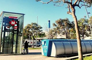 Arriba Bicibox: les 20 estacions de metro amb aparcaments per a bici