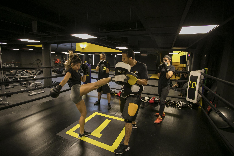 Aulas de ginásio para ficar em forma
