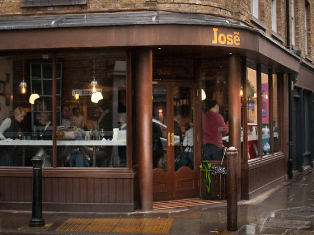 best sherry bars london, jose