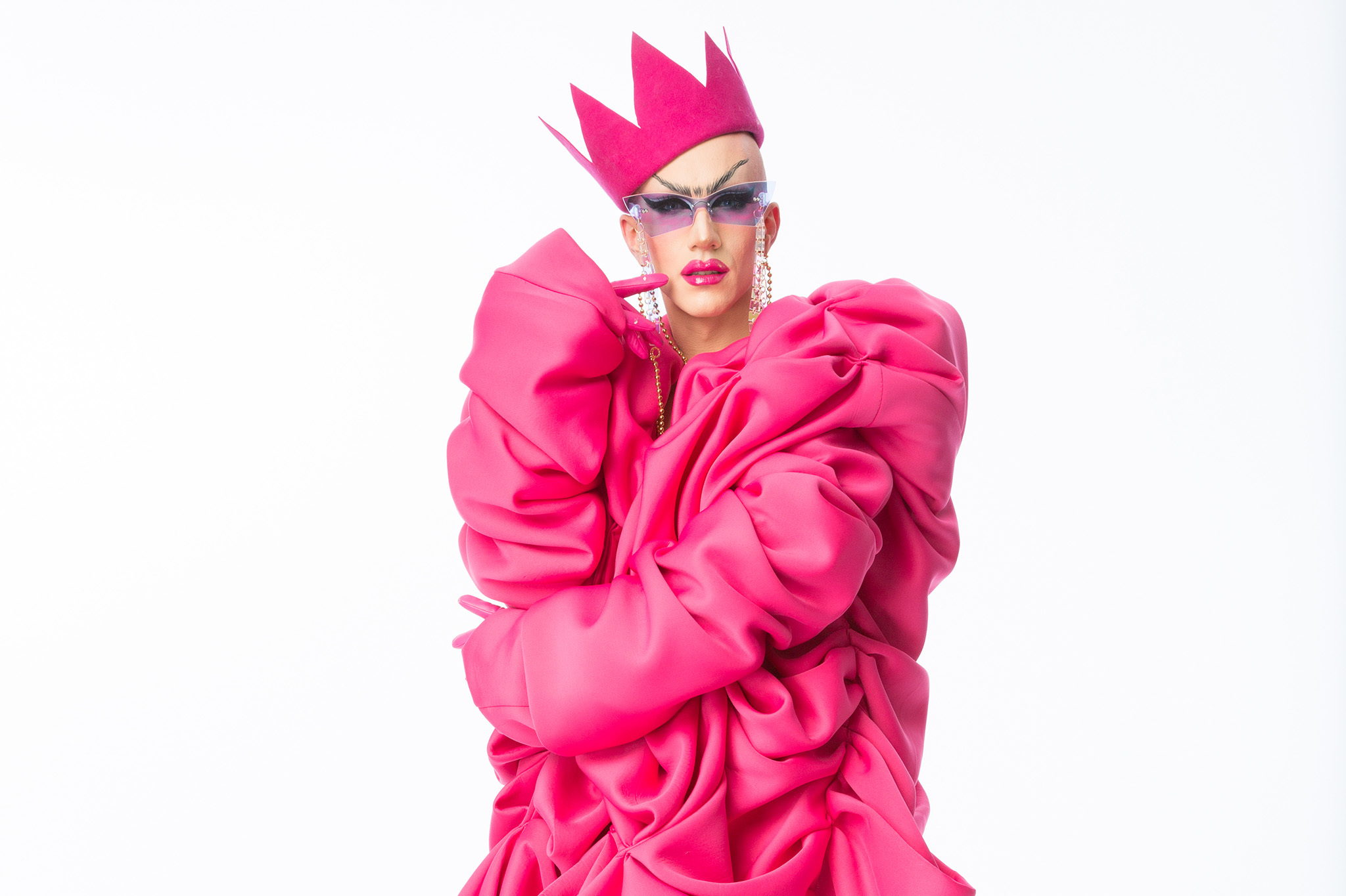 Sasha Velour talks touring the world as winner of RuPaul's Drag Race
