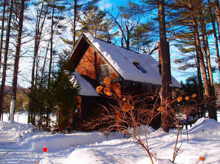 Denmark, ME: The lakefront cabin