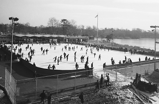 Kate Wollman Memorial Rink at Prospect Park, 1961