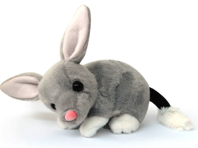 Bilby Plush toy at Taronga Zoo