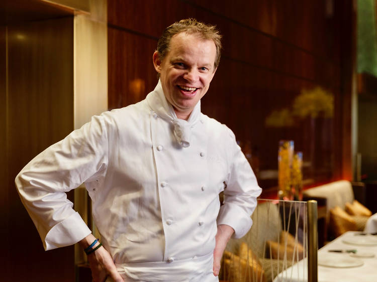 Richard Ekkebus, culinary director, Amber
