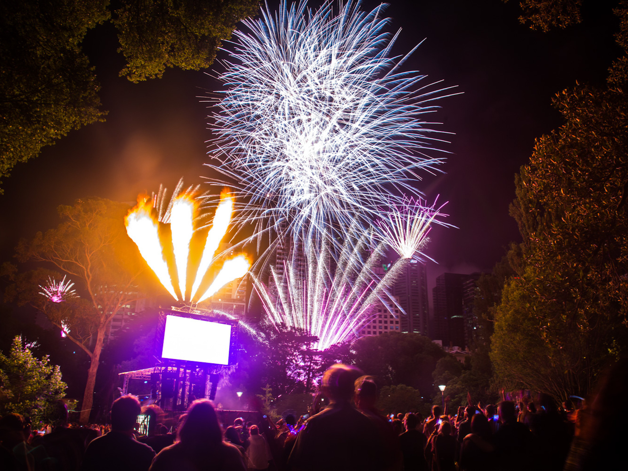 the 18 things you always see in melbourne on new years eve