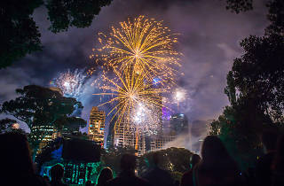 New Year's Eve in the City of Melbourne fireworks