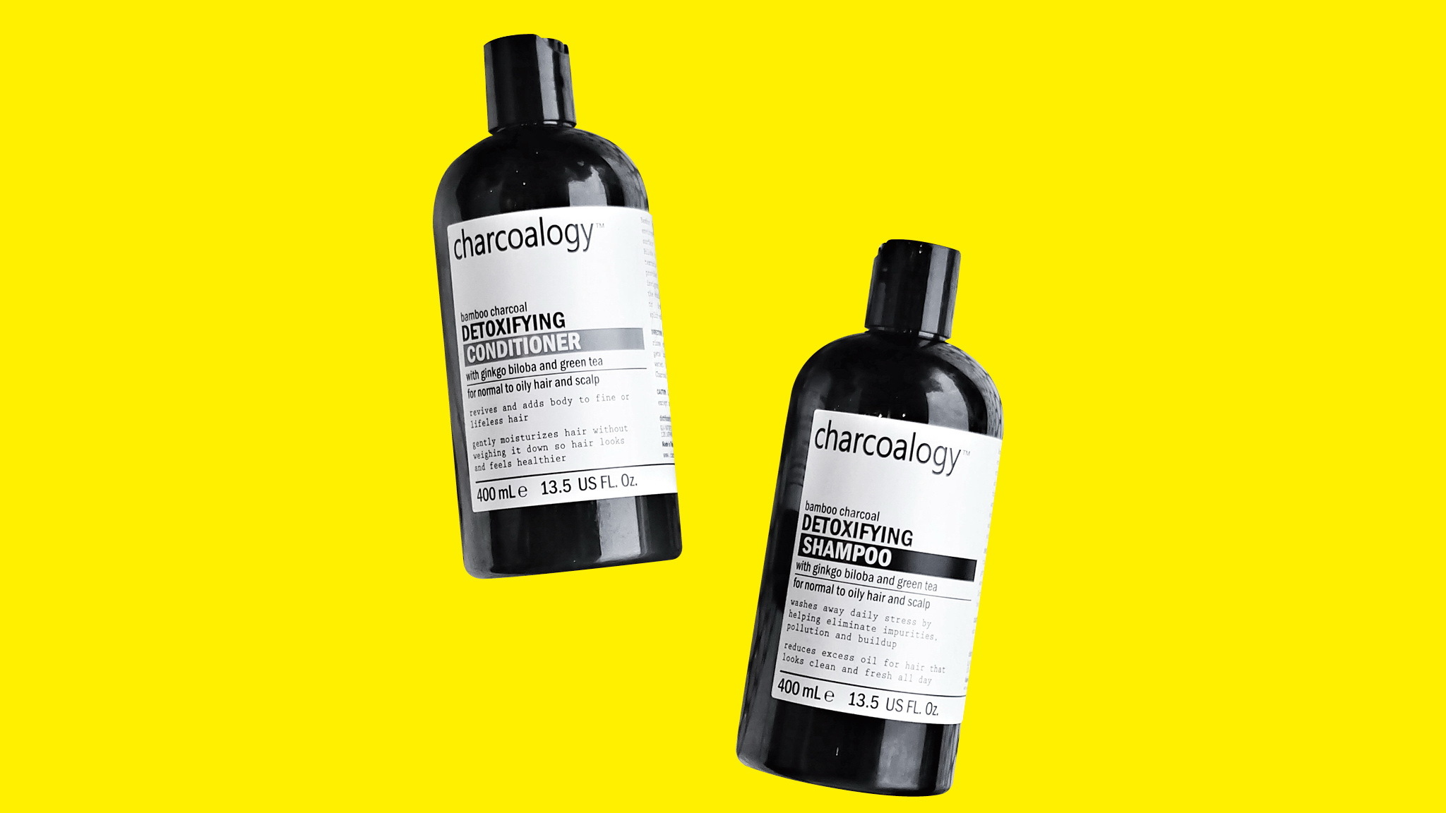 Gift Guide, Charcoal shampoo conditioner, Charcoalogy