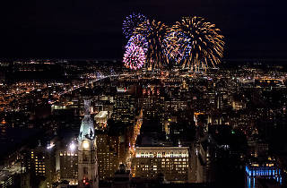 One Liberty Observation Deck hosts a New Year's Eve party