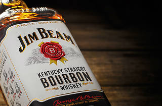 El bourbon de Kentucky Kim Beam