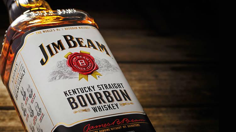 El bourbon de Kentucky Kim Beam