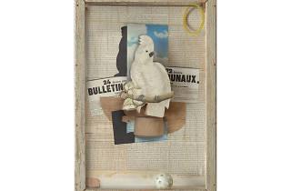 Joseph Cornell, Homage to Juan Gris, 1953-54