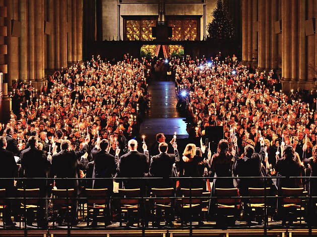 NYE Concert for Peace at the  Cathedral of St. John the Divine