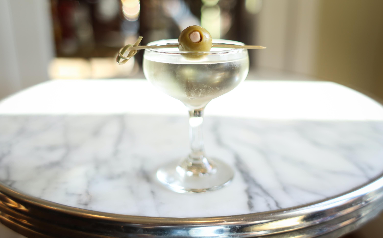 Big Bar, martini, Slightly Salty by the Sea