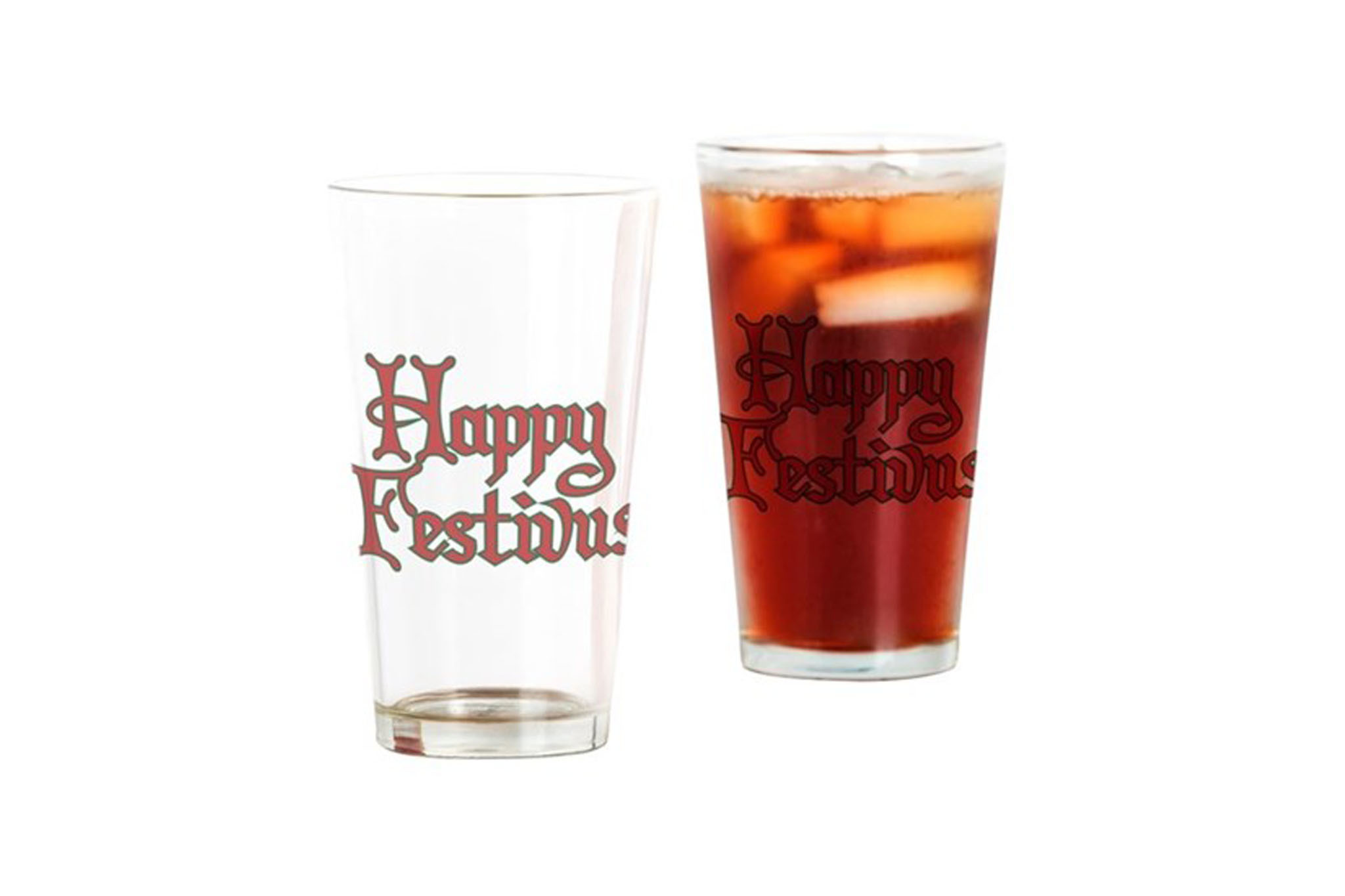 Festivus Drinking Glasses
