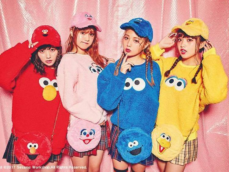 Sesame Street × WEGO 系列