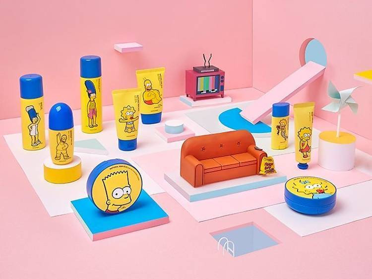 The Face Shop x The Simpsons 護膚系列