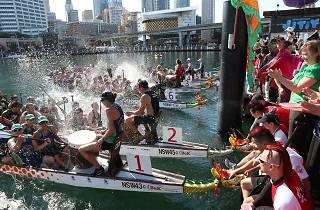 Chinese New Year Dragon Boat Races