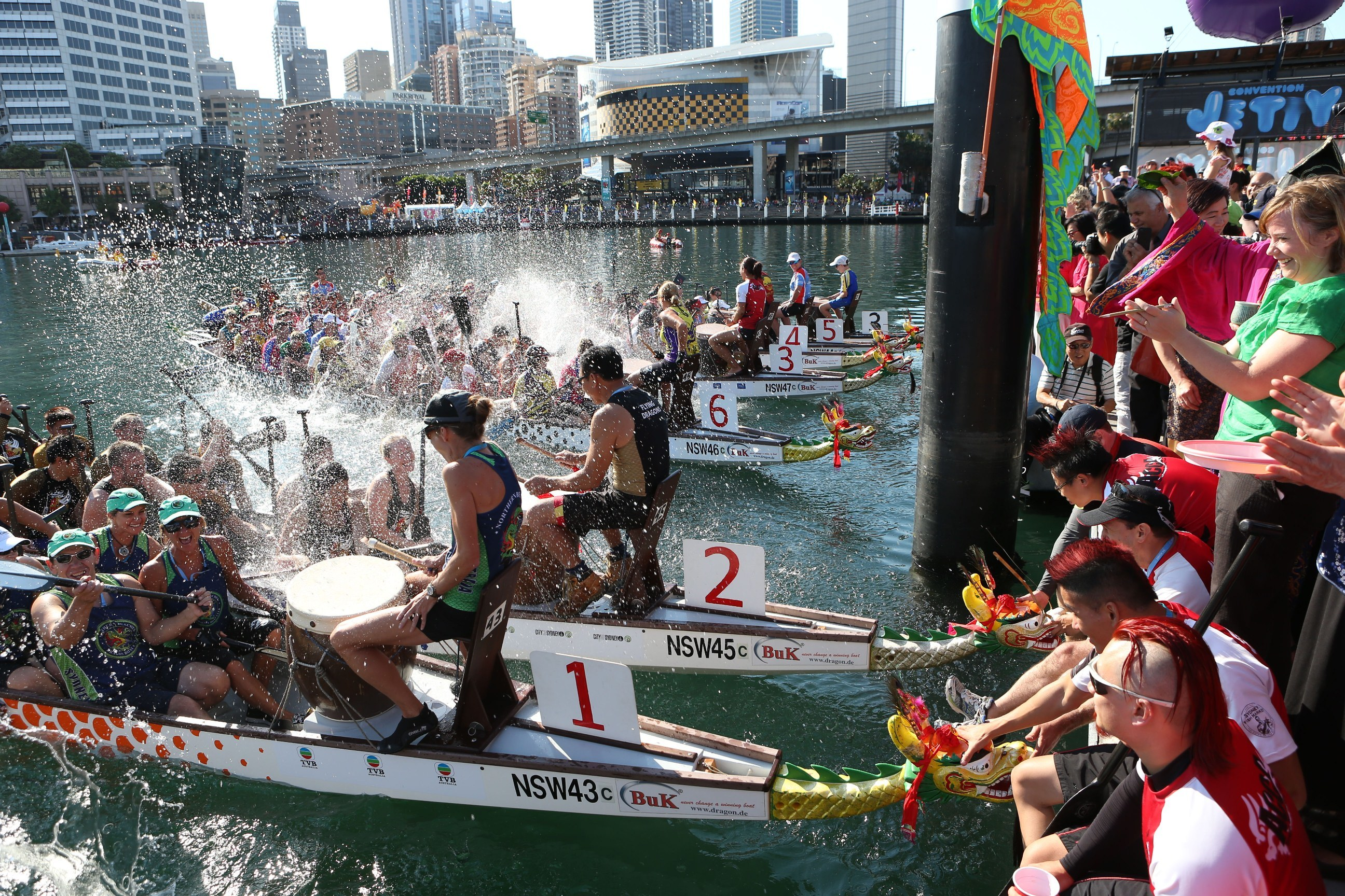 ragon Boat Races, Darling Harbour