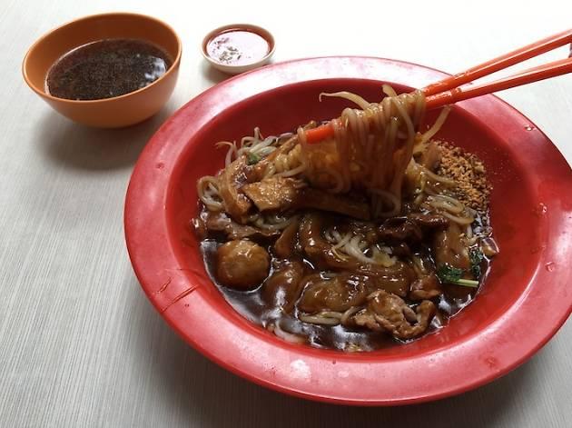 Authentic Hock Lam Street Popular Beef Kway Teow