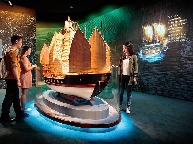 Maritime Experiential Museum - Maritime Silk Route Vessels Gallery